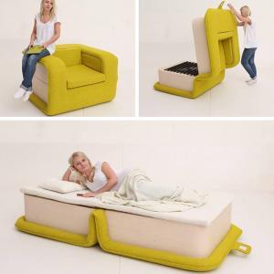 عکس - صندلی راحتی تخت خواب شو
