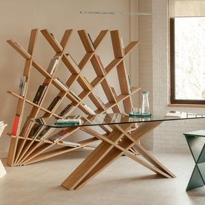 تصویر - طراحی قفسه کتاب توسط بانوی موفق ایرانی - معماری