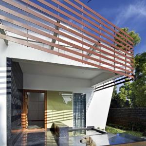 تصویر - خانه ای زیبا با حیاط مرکزی ،کاری از استودیو Purple Ink - معماری