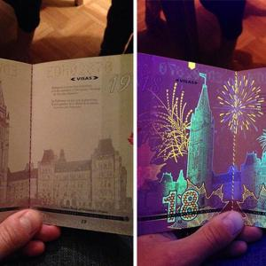 عکس - تصاویر پنهان پاسپورتهای کانادایی
