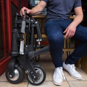 عکس - سبک ترین دوچرخه برقی جهان