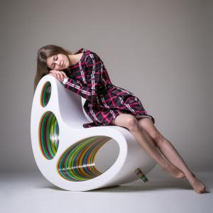 تصویر - سرزندگی با صندلی ارگانیک Alex Petunin - معماری