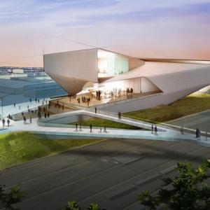 عکس - موزه المپیک ایالات متحده اثر استودیو Diller Scofidio و Renfro