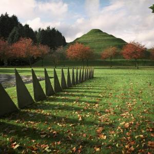 تصویر - عجیب ترین باغ جهان در اسکاتلند - معماری