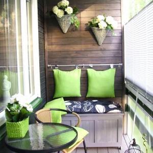 تصویر - چگونه در آپارتمان خود یک تراس زیبا داشته باشیم؟ - معماری