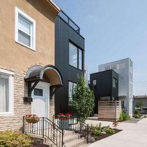 تصویر - مجموعه مسکونی محله Hintonburg ،کاری از Colizza Bruni - معماری