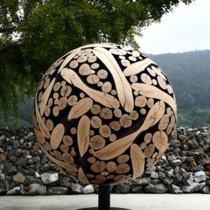 عکس - مجسمه های چوبی بی نظیر Jae-Hyo Lee