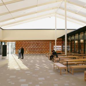 تصویر - پاویون ژاپن در اکسپو میلان 2015 - معماری