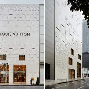 تصویر - ساختمان پر زرق و برق لوئیس ویتون در توکیو - معماری