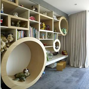 عکس - طبقات خلاقانه اتاق کودک