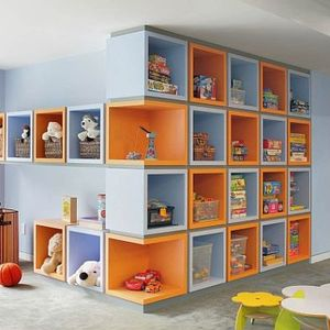 عکس - راهکارهایی برای جلوگیری از بهم ریختگی اتاق کودک
