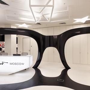 تصویر - طراحی داخلی دفتر کار Leo Burnett - معماری
