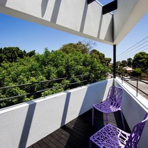 تصویر - خانه ای با پلان مثلث شکل - معماری
