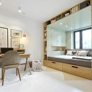 تصویر - اتاق خواب چندمنظوره - معماری