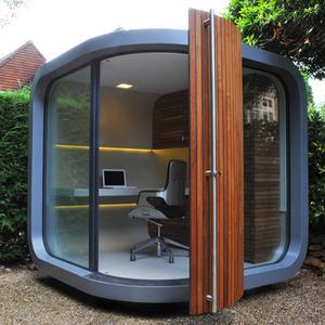 عکس - فضای کار بیرونی ،کاری از شرکت OfficePOD