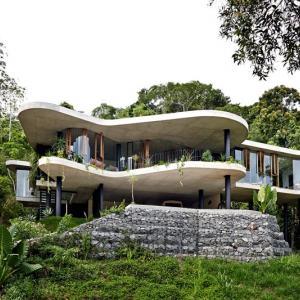 عکس - خانه Planchonella ، الگویی برای مسکن مناطق گرمسیری