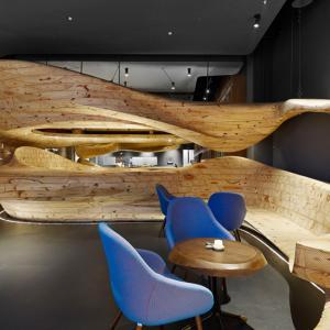 عکس - رستوران RAW با ساختار ارگانیک چوبی اثر WEIJENBERG