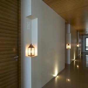 تصویر - طراحی راهرو هتل از آتلیه dnD - معماری