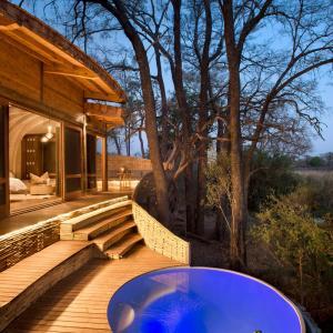 تصویر - فضای اقامتی موقت Sandibe Okavango در بوتسوانا - معماری