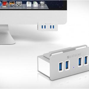 عکس - USB هاب آلومینیومی