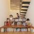 عکس - طراحی کتابخانه ای پله ای در کره جنوبی،کاری از mlnp