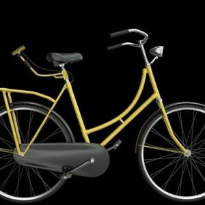 تصویر - دوچرخه ای با قابلیت نشان دادن علائم بر روی پشت دوچرخه سوار - معماری