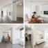 عکس - آپارتمانی کوچک با دیوارهای متحرک