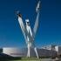 عکس - مجسمه جدید موزه پورشه در اشتوتگارت،کاری از Gerry Judah
