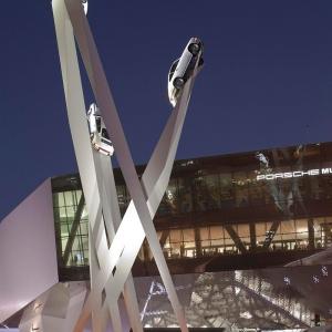 تصویر - مجسمه جدید موزه پورشه در اشتوتگارت،کاری از Gerry Judah - معماری