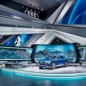 عکس - غرفه نمایشگاهی Audi در نمایشگاه خودرو فرانکفورت ، اثر SCHMIDHUBER ، آلمان