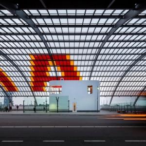 تصویر - ایستگاه اتوبوس مرکزی آمستردام ، اثر تیم معماری Benthem Crouwel، هلند - معماری