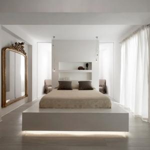 عکس - نورپردازی خاص تختخواب