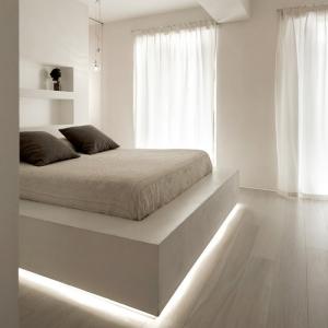 تصویر - نورپردازی خاص تختخواب - معماری