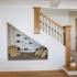عکس - 8 راه خلاقانه برای استفاده از فضای زیر پله