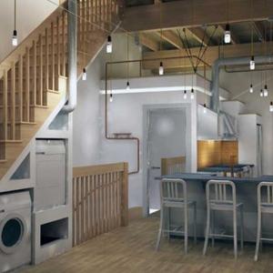 تصویر - 8 راه خلاقانه برای استفاده از فضای زیر پله - معماری