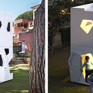 تصویر - فضای بازی کودکان با الهام از خانه های ژاپنی - معماری
