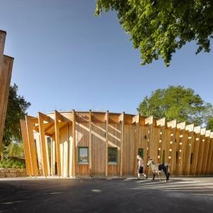 عکس - باغ وحش Öhringen Petting T، اثر تیم معماری Kresings ، آلمان