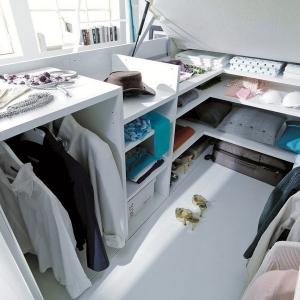 تصویر - رختکن لباس مخفی در زیر تختخواب - معماری