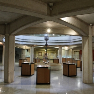 تصویر - هندسه و کاربرد عناصر سازهای در معماری موزه ملی قرآن کریم - معماری