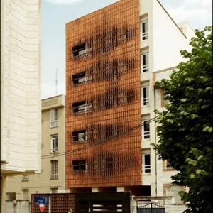 عکس - فضای فیلتر در پروژهای با الهام از معماری بومی ایران