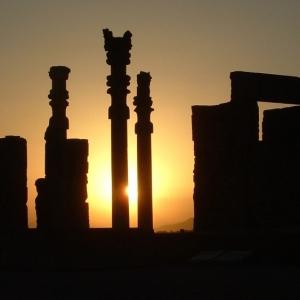 تصویر - تخت جمشید , مظهر آمیزش هنری دنیای باستان - معماری