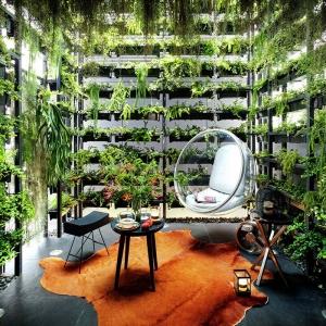 تصویر - باغ عمودی،پیوندی میان ساکنان خانه و طبیعت - معماری