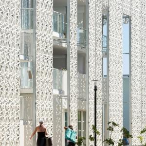 تصویر - هتل Nakâra ,،تیم معماری Jacques Ferrier ، فرانسه - معماری