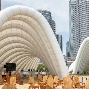 عکس - فستیوال موسیقی تورنتو در پاویون Ontario، اثر تیم معماری Tectoniks ، کانادا