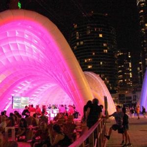تصویر - فستیوال موسیقی تورنتو در پاویون Ontario، اثر تیم معماری Tectoniks ، کانادا - معماری