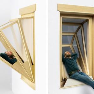 عکس - اختصاص فضایی بیرون از خانه به ساکنان با کمک پنجره