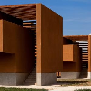 عکس - مرکز آموزشی و تکنولوژی Guelmim ،اثر Saad El Kabbaj، Driss Kettani، Mohamed Amine Siana ، مراکش