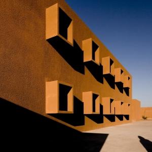 تصویر - مرکز آموزشی و تکنولوژی Guelmim ،اثر Saad El Kabbaj، Driss Kettani، Mohamed Amine Siana ، مراکش - معماری