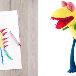 تصویر - IKEA ،نقاشی کودکان را به واقعیت تبدیل می کند. - معماری