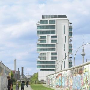 تصویر - آپارتمان مسکونی Living Levels ، اثر تیم طراحی Sergei Tchoban ،آلمان - معماری